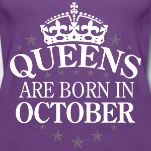 Queens October Tops - Frauen Premium Tank Top
