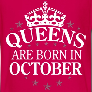 Queens October Langarmshirts - Teenager Premium Langarmshirt