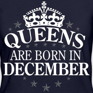 Queens December T-Shirts - Frauen Bio-T-Shirt