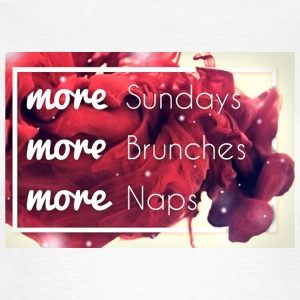 more Sundays - Frauen T-Shirt