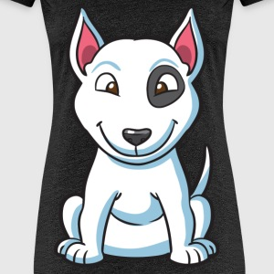 Patch the Puppy Dog - Women's Premium T-Shirt