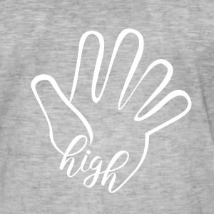 High Five T-Shirts - Männer Vintage T-Shirt