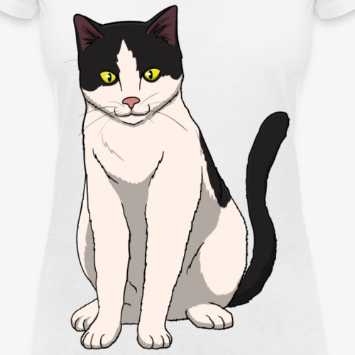 Cat Black and White