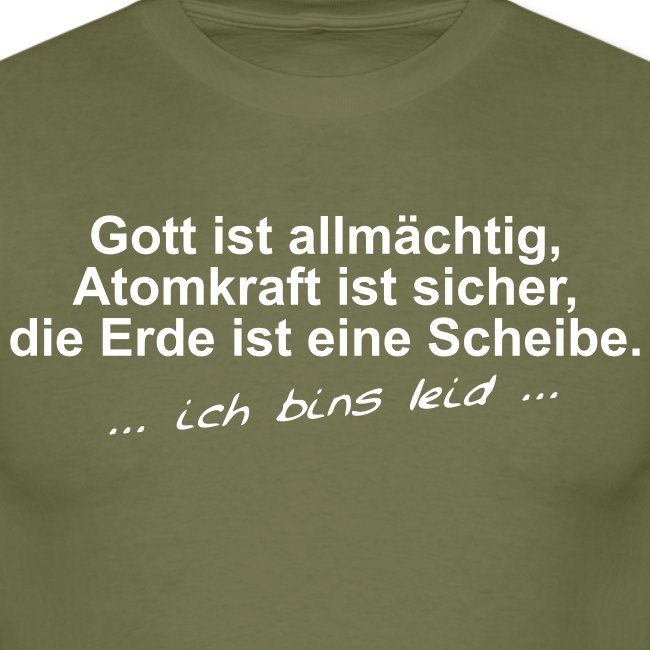 Almaechtiger Scheibengott