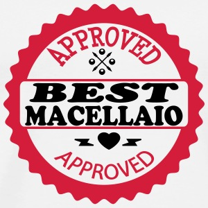 Approved best macellaio Camisetas - Camiseta premium hombre
