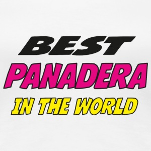 Best panadera in the world Camisetas - Camiseta premium mujer