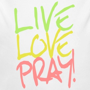 Live-Love-Pray! Baby Bodys - Baby Bio-Langarm-Body