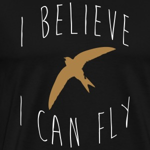 I believe I can fly t-shirt manche courte - T-shirt Premium Homme