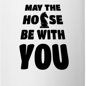 may the horse be with you - Tasse zweifarbig