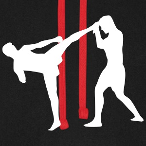 Kickboxing, Martial Arts Hoodies & Sweatshirts - Unisex Baseball Hoodie