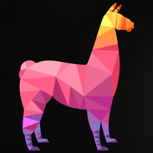 Llama Low Poly | Cool Geometric Design T-shirt neonato - Maglietta per neonato