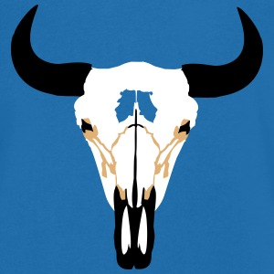 Buffalo Head, Bison T-shirts - Mannen T-shirt met V-hals