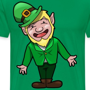 St. Patricks Day leprechaun - Men's Premium T-Shirt