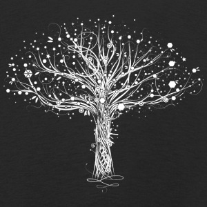 A white tree Long Sleeve Shirts - Kids' Premium Longsleeve Shirt
