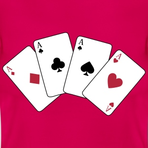 Card Game, Poker, Ace T-shirts - Vrouwen T-shirt