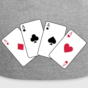 Card Game, Poker, Ace Casquettes et bonnets - Bonnet en jersey