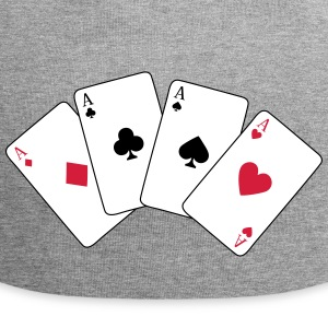 Card Game, Poker, Ace Caps & luer - Jersey-beanie