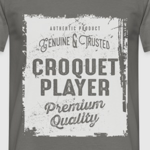 Croquet Player - Men's T-Shirt