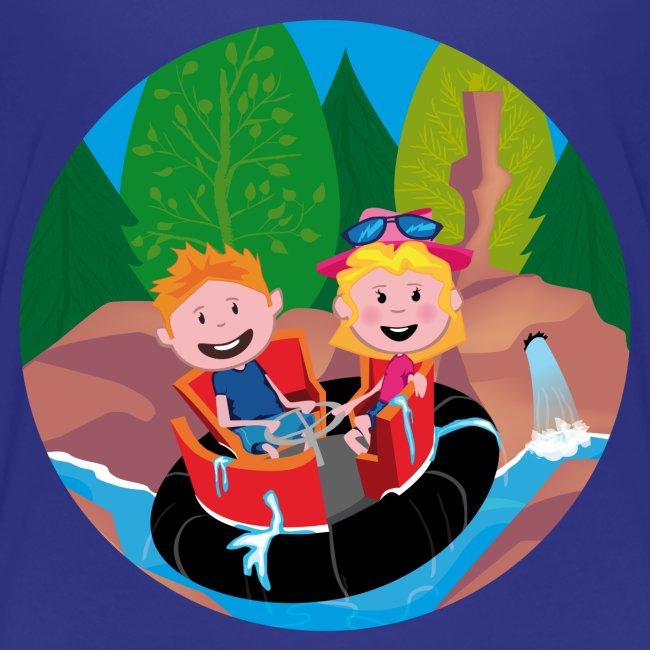 Pretparken: Wildwaterbaan