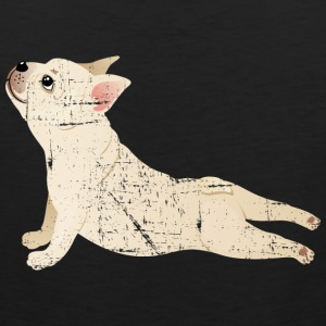 French Bulldog | Yoga Pose | Funny Illustration Sportbekleidung - Männer Premium Tank Top