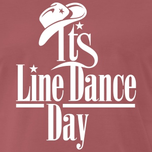 LINE DANCE DAY T-Shirts - Men's Premium T-Shirt