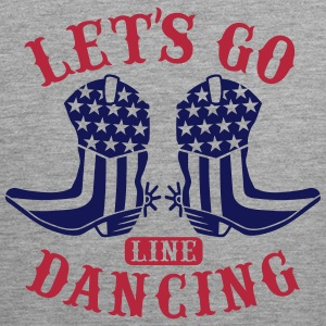 LET'S GO LINE DANCING Sports wear - Men's Premium Tank Top