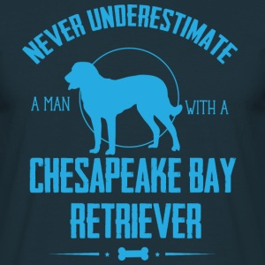 Dog Chesapeake Bay Retriever NUM T-Shirts - Men's T-Shirt