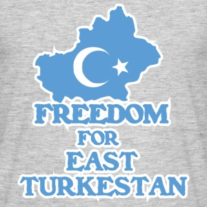 Freedom for East Turkestan Koszulki - Koszulka męska