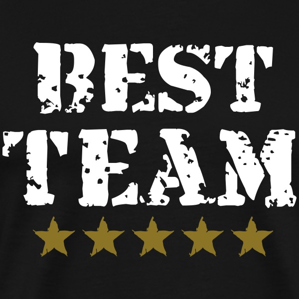 Best Team, 5 Stars, Champions, Sports, Winner T-skjorter - Premium T-skjorte for menn