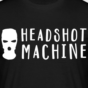 HEADSHOT MACHINE T-Shirts - Männer T-Shirt