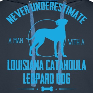 Dog Catahoula Cur NUM Hoodies & Sweatshirts - Men's Premium Hoodie