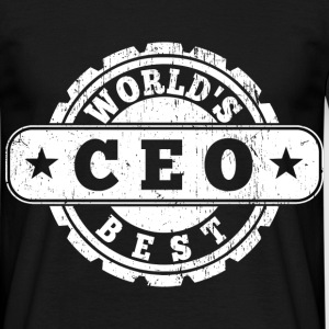 World's Best CEO T-Shirts - Männer T-Shirt