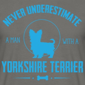 Dog Yorkshire Terrier NUM T-Shirts - Men's T-Shirt