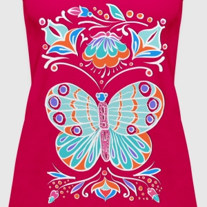 Schmetterling Ornament Tops - Frauen Premium Tank Top