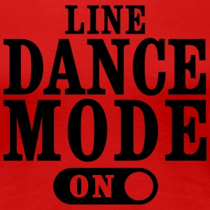 LINE DANCE MODE, ON T-Shirts - Women's Premium T-Shirt
