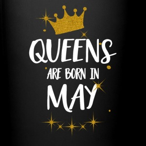 QUEENS ARE BORN IN MAY Mugs & Drinkware - Full Colour Mug