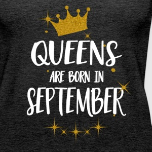 QUEENS ARE BORN IN SEPTEMBER Tops - Frauen Premium Tank Top