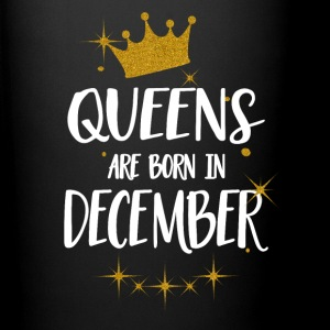 QUEENS ARE BORN IN DECEMBER Mugs & Drinkware - Full Colour Mug