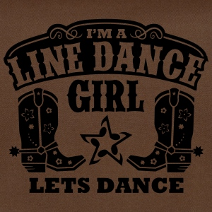 I'M A LINE DANCE GIRL Bags & Backpacks - Shoulder Bag