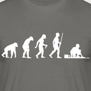 Bodenleger Evolution - Männer T-Shirt