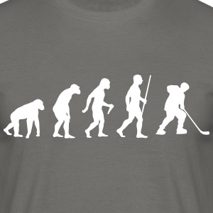 Eishockey Evolution - Männer T-Shirt