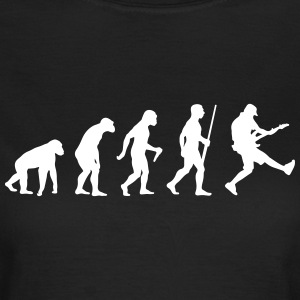 Bass Gitarrist Evolution - Frauen T-Shirt