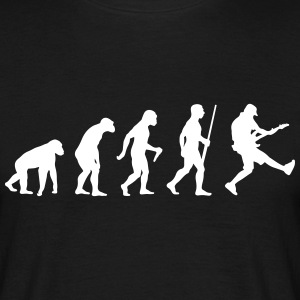 Bass Gitarrist Evolution - Männer T-Shirt