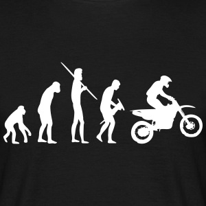 Motocrosser Evolution - Männer T-Shirt