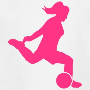 Frauenfussball - Kinder T-Shirt