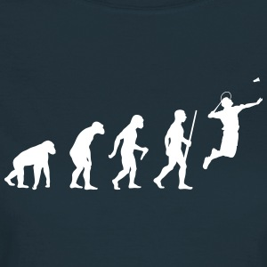 Badminton Evolution - Frauen T-Shirt