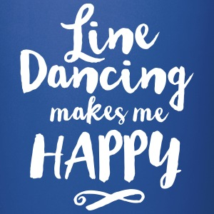 LINE DANCING MAKES ME HAPPY Mugs & Drinkware - Full Colour Mug