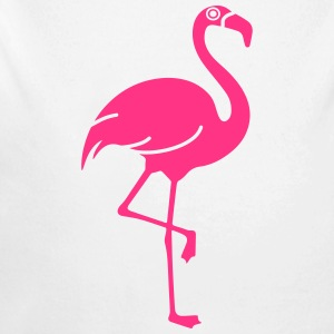 Flamingo - Baby Bio-Langarm-Body
