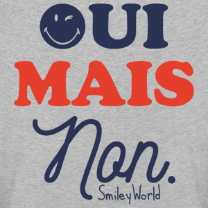 SmileyWorld Oui Mais Non - Kids' Premium Longsleeve Shirt