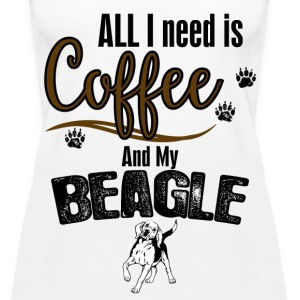 All I need is Coffee and my Beagle Tops - Women's Premium Tank Top